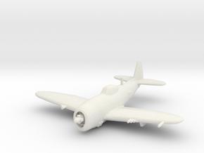 Republic P-47 'Thunderbolt' Bubbletop in White Strong & Flexible: 1:200