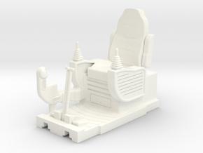 rc radio control digger excavator interior 1/14.5  in White Processed Versatile Plastic