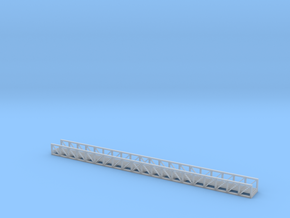 N Pipe Bridge 153mm in Smooth Fine Detail Plastic
