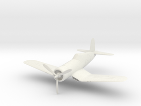 F4U CORSAIR in White Natural Versatile Plastic