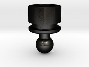Yamaha SR250 Tachometer Removal Plug in Matte Black Steel