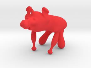 Cowgilla in Red Processed Versatile Plastic