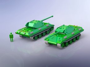 German Panther - M10 Wolverine Conversion 1/285  in Smooth Fine Detail Plastic
