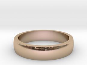 Model-06edc1cd10985695f2f65b2f5cd63625 in 14k Rose Gold Plated Brass