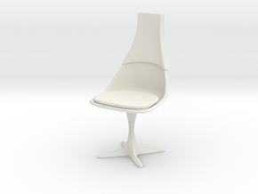 TOS Chair 115 1:9 Scale 8-Inch in White Natural Versatile Plastic