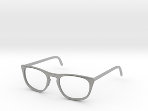 Classic Glasses Frames in Metallic Plastic