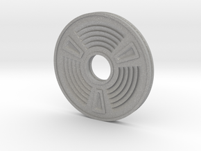 Concentric Coin in Aluminum