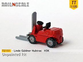 Linde Güldner Hubtrac H3K (TT 1:120) in Smooth Fine Detail Plastic
