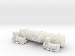 Accuair Dual Viair 1/12 in White Natural Versatile Plastic