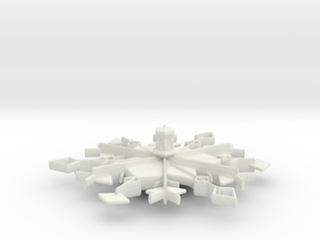 Snowflafe Top in White Strong & Flexible
