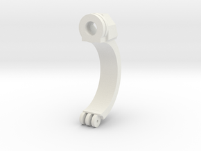 Clamp Ring 2v2 in White Natural Versatile Plastic