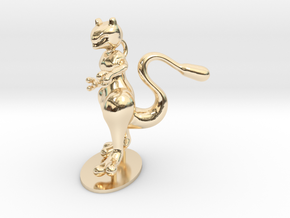 Mewtwo in 14K Yellow Gold