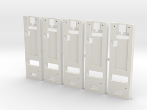 DNA75 DNA200 DNA250 Mounting Plate x5 in White Natural Versatile Plastic