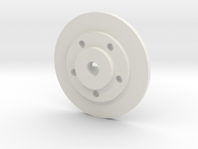 Mach5 Hubs With Disks in White Strong & Flexible