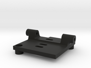 HS1177 Back Plate Mount in Black Strong & Flexible