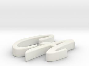 Model-e83a8c39ba7cba666b395758a84250b8 in White Strong & Flexible