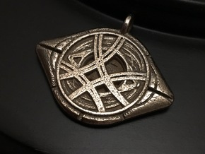 Eye Of Agamotto Keychain in Stainless Steel