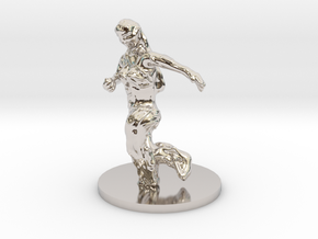 Dryad in Rhodium Plated Brass