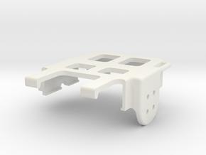 RunCam2 Gimbal Camera Housing V2 in White Natural Versatile Plastic