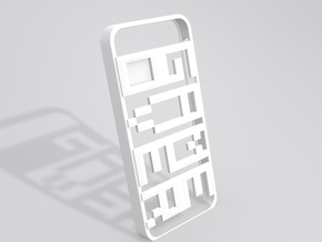 GAMEOVER iPhone 5 Case in White Natural Versatile Plastic