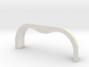 TK&A  Grommet Straight  Flange in White Strong & Flexible