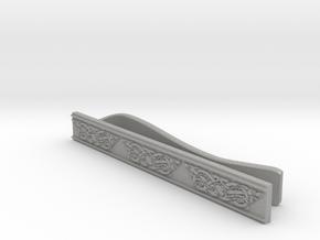 Celtic Wolf Tie Bar in Aluminum