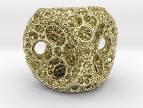 Fractal1 in 18k Gold