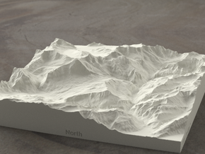 6''/15cm Oberland Peaks, Switzerland, Sandstone in Natural Sandstone