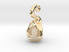 Hydrazine: bend the explosion in 14k Gold Plated Brass
