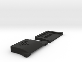 Case for WiModem without OLED Display in Black Natural Versatile Plastic