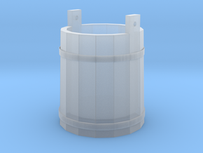 18th Century Pale or Bucket 1/35 in Smooth Fine Detail Plastic