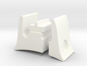 T-21 Sight in White Processed Versatile Plastic