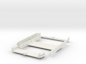1/6 Hasbro HMMWV Gunner stand Brackets in White Natural Versatile Plastic