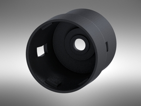 KAM Chassis Part 3 28mm Bass Speaker Holder in Black Natural Versatile Plastic