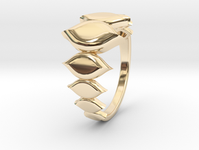 Fashion Fire Ring 1009 in 14K Yellow Gold