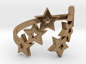 Ring Star 1011 in Natural Brass