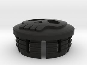 Skull Cap For Sv 650 N Mirror Support in Black Strong & Flexible