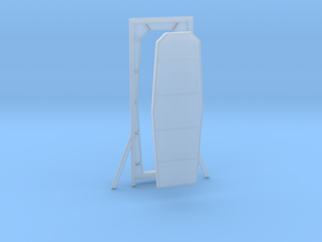 Maintenance Room Door for DeAgo Falcon in Smooth Fine Detail Plastic