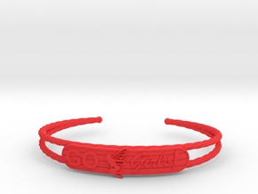 Go Girls Bracelet in Red Processed Versatile Plastic