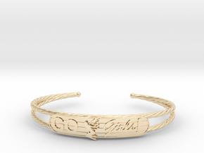 Go Girls Bracelet in 14K Yellow Gold