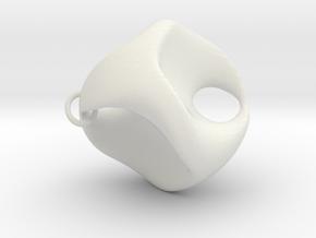 P-like a scherk in White Natural Versatile Plastic