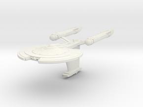 Parker Class V Destroyer in White Natural Versatile Plastic