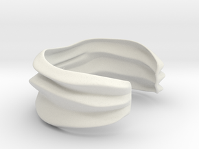 Lunar | Bracelet for Her&Him in White Natural Versatile Plastic: Medium