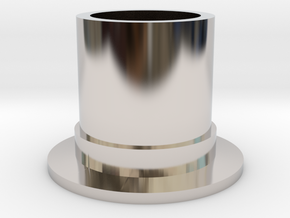 Top Hat Espresso Cup in Platinum