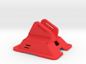 Black Bolt XBR Canopy FPV Mount in Red Strong & Flexible Polished