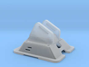 Black Bolt XBR Canopy FPV Mount in Smooth Fine Detail Plastic
