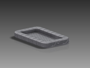 60 Man Rectangular Float 1/144 in Frosted Ultra Detail