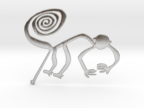 Nazca: The Monkey in Natural Silver