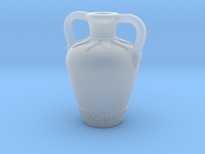 (1/4 Scale) Ancient Greek amphora themed bottle in Smooth Fine Detail Plastic