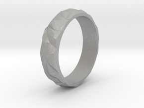 Ice silver ring in Aluminum: 5 / 49